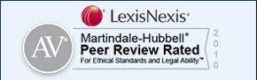Martindale Peer Review Ratings